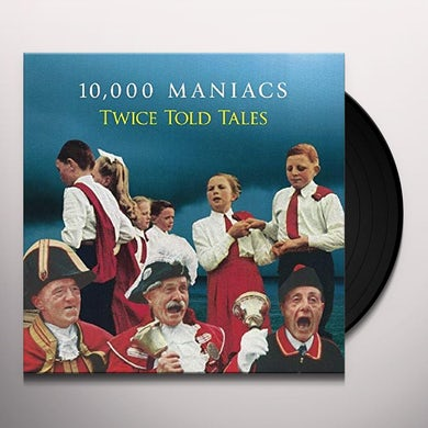 10,000 Maniacs Twice Told Tales Vinyl Record