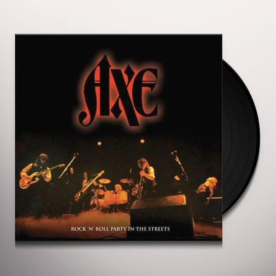 Axe Rock N' Roll Party In The Streets Vinyl Record