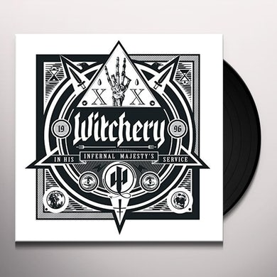 Witchery IN HIS INFERNAL MAJESTY'S SERVICE Vinyl Record